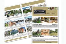 Newsletters & Property Bulletins / Estate agents newsletters and property bulletins provide a flexible marketing tool to establish your market place by displaying a range a properties for sale and a record of selling success with sold properties.