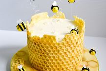 torta abejas