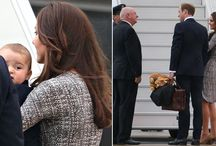 Duke and Duchess of CAMBRIDGE & Prince George First tour of Australia & New Zealand / Royal Tour of Australia and New Zealand  Duke Duchess of CAMBRIDGE and Prince George