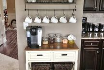 Shabby Chic Coffee Corner Ideas