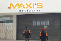SECuCAM: MAXIS (Restaurant) / Installation done: 12 Dome Cameras. 16 Channel DVR Access to Smartphone/Laptop etc