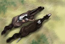 kreslení koně