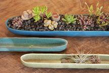 Ceramics in the garden
