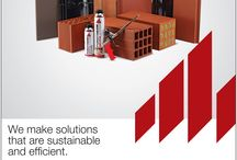 #Wienerbergerindia #India #realestate #construction #buildings #greenbuilding / Wienerberger - Leaders in Clay Building Materials Product Portfolio Wall Solutions, Roof Solutions & Façade Solutions