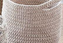 pletené košiky