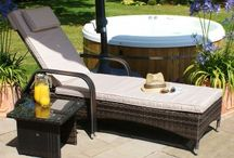 Outdoor Rattan Daybeds & Loungers / To browse more of our range of Outdoor Rattan Daybeds & Sun Loungers, please visit http://www.supremerattanfurniture.co.uk/rattan-loungers-and-daybeds