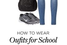 casual/schoolish outfits