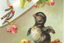 Dobové obrázky - Velikonoce