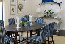 Beach House Decor: Dining Room