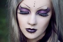 Mind Blowing Make Up / All the amazing spooky, gothic and witchy make up inspirations.
