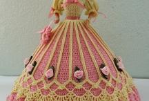 Hand crochet dress