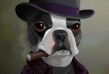 Poster cachorro / Cachorros poster