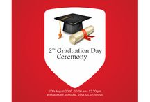 CHENNAIS AMIRTA 2ND GRADUATION CEREMONY / Chennais Amirta celebrates their 2nd Graduation Day Ceremony on 10th August 2016 at kamarajar Arangam, Anna Salai, Chennai. Professor DATO Dr. Mansor Fadzil, Vice Chancellor of OUM University, Malaysia has honoured to deliver the Graduation Day Special Address and distribute the degrees and medals to the students.