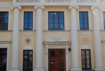 ZAKŁAD MEDYCYNY SĄDOWEJ WUM / Litery ze Stali Nierdzewnej stylizowane na patynowaną miedź dla Zakładu Medycyny Sądowej Warszawskiego Uniwersytetu Medycznego
