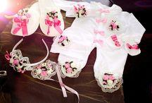 bebek kıyafet süslemeleri