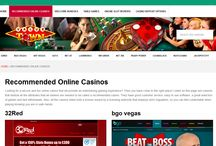 Best Online Casinos / Join casinos that have good customer service, easy to use software, a great selection of games and fast withdrawals.