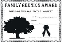 Family Reunion Ideas / by Cindy Buscholl