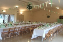 Village hall wedding ideas / Inspiration for wedding recepton being planned in August '13