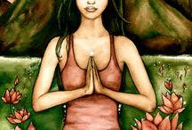 Meditating, breathing, healing... / Finding my balance... / by Linda S