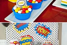 Comic Book-Style Party / by Sara Grant