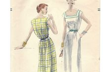 Patterns With A Past Love / A love of vintage fashion and the sewing patterns to create them -- all original (not digital copies) from the 40s through the 90s. New items listed daily so favorite the shop so you'll be one of the first to see the new!! Well, the new old.