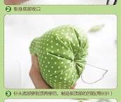 Owoce z materiału