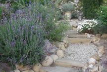 Garden stonestairs