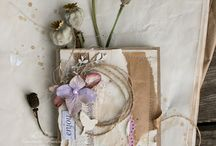Eco, rustic, country, botanical / craftcards