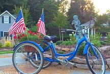 Americana ♥ Patriotic Decor / American's are proud and love to show it. This board includes American celebrations and Americana decor.