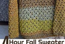Crochet pattern - sweater