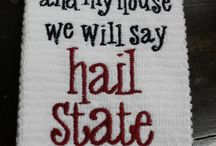 #hailstate / by Rebecca Young
