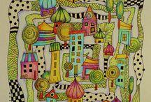 Farve doodles