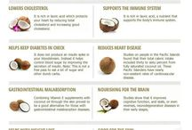 Coconut Oil  / Home remedies and recipes.  / by Pink Pad: The App for Women