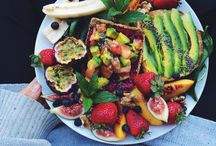 fruits and salads