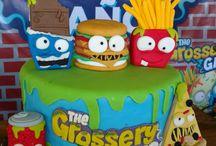 Grocery gang birthday