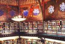 Library / I just love libraries. Especially the old ones.