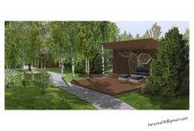 landscape designe / my gardens