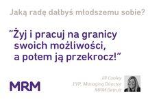 Kobiety z MRM inspirują / Niezwykła dyskusja zorganizowana przez MRM na Google+. Kobiety sukcesu z branży reklamowej dyskutują o możliwościach, wyzwaniach i pułapkach, na które trafiały w czasie swojej drodze zawodowej.  http://youtu.be/jGq1xvDclow