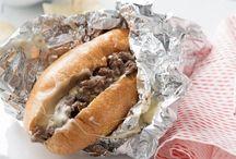 Cheese Steak / How to make the best Philly cheese steak sandwhich