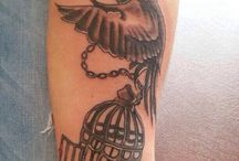 Free bird tattoo