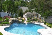 In Ground pools / Liner in-ground and Gunite in-ground pools