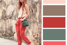 Color blocks fashion