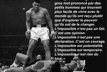 Sports / Champions, citations, film et sport, livre et sport