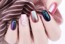 chameleon nail art