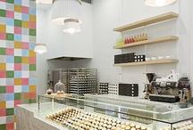 Bakery interior design