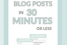 Prowadzenie bloga dla biznesu / Wskazówki dotyczące blogowania.