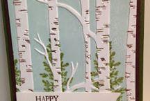 Birch Trees Emb. Folder