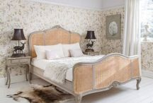 Normandy French Bedroom Fueniture / Our Luxurious hand painted shabby chic French bedroom furniture.  / by The French Bedroom Company