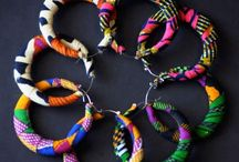 Afrikaanse oorbellen