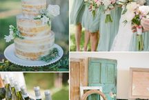 outdoor wedding (spring colors) / by Kylee Hillman
